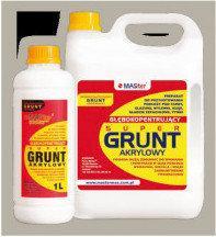 MASter Grunt akrylowy Grunt głęboko penetrujący Super Grunt 5L M-SG-5