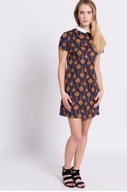Medicine Sukienka Less Is More RS17.SUD030 stalowy niebieski