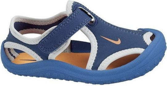 Nike BUTY SUNRAY PROTECT (TD) Niebieski 344925 401