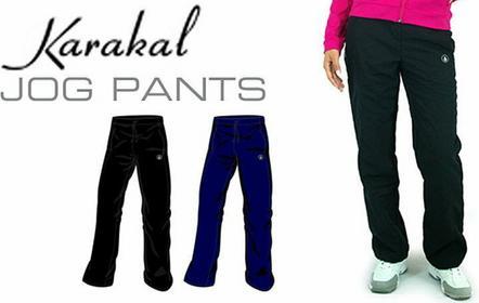 Karakal Spodnie Ladies Jog Pant Czarne