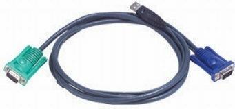 Aten 2L-5202U Kabel HD15M+USB AM/ SPHD15M