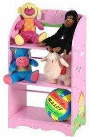 Regał dziecięcy, szafka na zabawki - różowy CB4520020 6D4