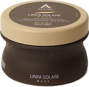 Kemon ACTYVA Linfa Solare Mask Maska do włosów po kąpieli słonecznej 200ml