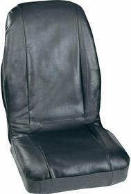 Zestaw pokrowców Petex 3007004 skóra syntetyczna Czarna