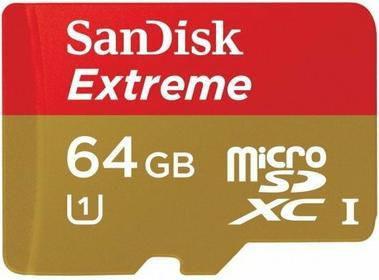 SanDisk MicroSDXC 64GB Extreme