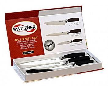 Zestaw noży ceramiczneCH 4 ELE. SWITZNER SW-004