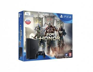 Sony PlayStation 4 Slim 1TB Czarny + For Honor