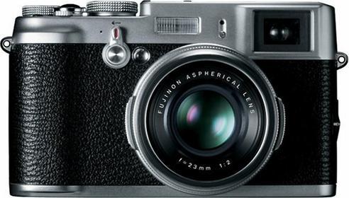 Fuji FinePix X100 srebrny