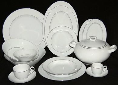 Ćmielów Serwis obiadowy - kawowy dla 12 osób (104el) - Yvonne 9716