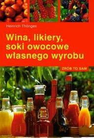 Heinrich Thonges Wina, likiery, soki owocowe własnego wyrobu