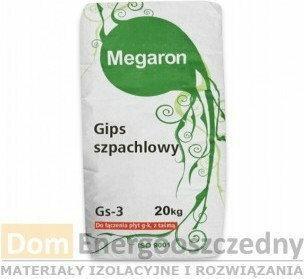 Megaron Gips szpachlowy 20 kg