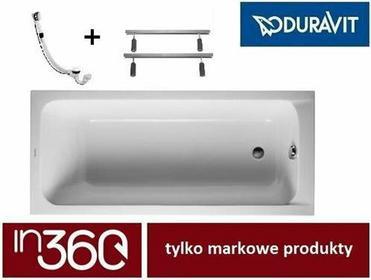 Duravit D-Code 150x75 biała 700095000000000