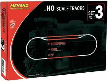 Mehano Mechano H0 F103 zestaw dodatkowych torów