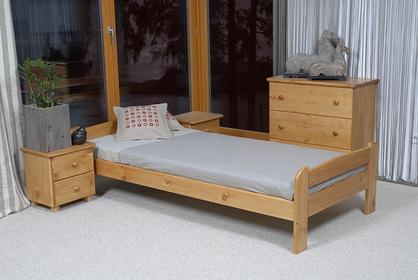 Łóżko ANIA90x200 sosna