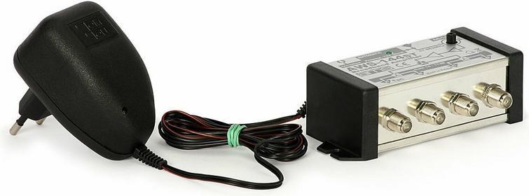 AMS Wzmacniacz antenowy wewnętrzny z zasilaczem AWS-144ST