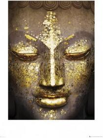 Buddha Face - Obraz, reprodukcja