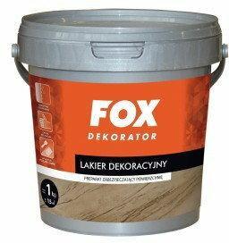 Fox Dekorator Lakier dekoracyjny - - Mat 1L Fox_3057PL