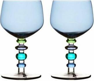 Sagaform KIELISZKI do wina NIEBIESKIE 350 ML, 2 SZT. SF-5016240