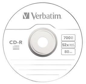 Verbatim Płyta CD-R 700MB Koperta
