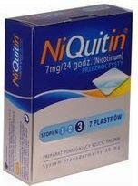 GlaxoSmithKline NiQuitin-3 7mg/24h 7 szt.