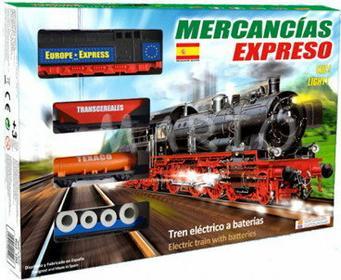 Pequetren Kolejka elektryczna HISZPAŃSKIEJ FIRMY MERCANCIAS EXPRESO 100 100