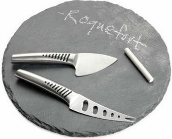 Brandani TAGLIERE ROUND Deska do serów z nożami, 55234