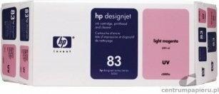 HP Głowica + wkład atramentowy nr 83 UV jasnopurpurowy (680 ml) (C5005A)