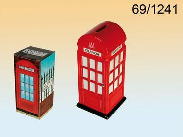 Skarbonka londyńska budka telefoniczna