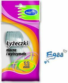 Stella Pack Łyżeczki plastikowe 12szt