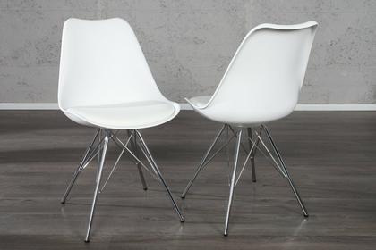 Interior Krzesło Astoria retro białe