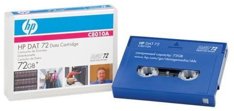 HP DAT 72 72GB 170m Data Cartridge DAT 72 data cartridge with 72GB capacity a