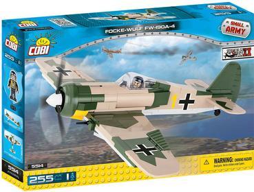 Cobi Small Army samolot Focke-Wulf FW 190