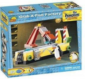Cobi Pingwiny przetwórnia ryb 26081