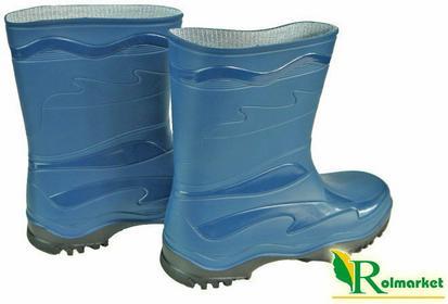 Demar Damskie kalosze ogrodowe PVC Young, kolor niebieski