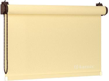 Karnix Mini roletka STELLA pearl - Cytryna / Brązowy