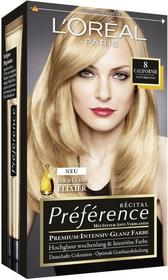 Loreal Recital Preference X3 8.0 Californie jasny blond