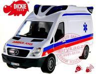 Dickie Samochody SOS Karetka Ambulans Światło Dźwięk 3716002_AMB