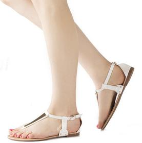 Białe sandały White Sandals Maricel biały