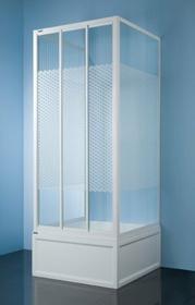 Sanplast Classic 80 KT/DTr-c-80 80x80 profil biały szkło W5
