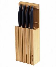 Kyocera Blok z 4 nożami ceramicznemi Black 4BKBK