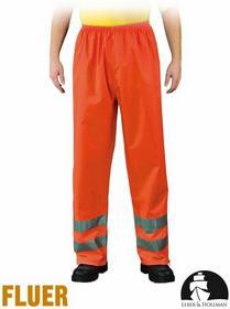 Leber & Hollman PRZECIWDESZCZOWE spodnie OSTRZEGAWCZE LH-FLUER-T