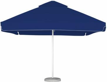 LITEX Promo Sp. z o.o. Parasol ogrodowy Barbados 3,5x3,5m Reflex Blue z podstawą