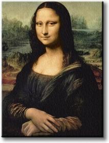 Leonardo Da VinciS - Mona Lisa - Obraz na płótnie