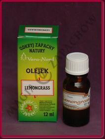 Vera Nord LEMONGRASS (TRAWA CYTRYNOWA) - Olejek zapachowy VN_OZ_Lemongrass