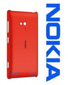 Nokia ETUI CC-3064 - CHARGING COVER - KLAPKA INDUKCYJNA - DO LUMIA 720 - RED - C