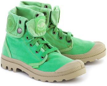 Palladium Baggy - Zielone Canvasowe Trapery Damskie - 92353341