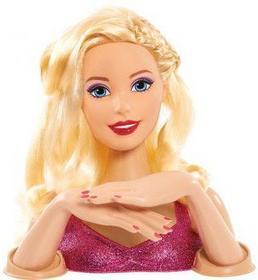 Mattel Głowa Do Stylizacji Deluxe Wizaż i Manicure 19 el. 61125