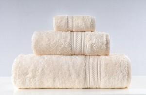 Greno Kremowy Ręcznik Kąpielowy Egipska Bawełna Egyptian 50x90