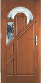 Cuba- Drzwi Zewnętrzne Drewniane- STOLPAW- Optimum+ Sosna