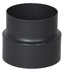 Bertrams DARCO Redukcja fi 150/120mm blacha czarna 2mm